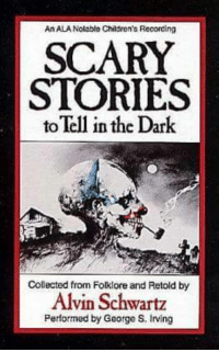 Remember this?: AnALANolabte Children's Recording  SCARY  STORIES  toTell in the Dark  Collected from Folklore and Retold by  Alvin Schwartz  Performed by George S, Irving Remember this?