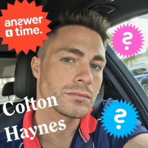 Friday, Tumblr, and Blog: anawer  o time.  Colton  Haynes entertainmentweekly: Hi Tumblr!  Colton Haynes will be answering your questions tomorrow, Friday June 9th at 3:45pm EST in celebration of #RoughNightMovie, which hits theaters June 16th.  Ask away!  Hey! why have you done blackface one, two, three times?