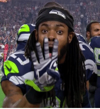 Hey Richard Sherman: how many touchdowns did your defense give up to the Falcons? SEAvsATL: ANAWRS Hey Richard Sherman: how many touchdowns did your defense give up to the Falcons? SEAvsATL