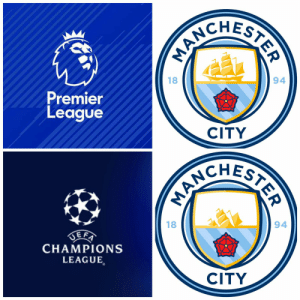Memes, Premier League, and Champions League: ANCH  18  94  Premier  League  CITY  CHES  18  94  CHAMPIONS  LEAGUE  CITY Man City in Premier League vs Man City in Champions League  (Credits: @nestadu27 ) https://t.co/vYeFvLJieK