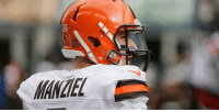 Johnny Manziel, Memes, and 🤖: ANCIEL Eight potential landing spots for Johnny Manziel: https://t.co/fNkjlrORK0 (via @AroundTheNFL) https://t.co/ojWuNbpz6z