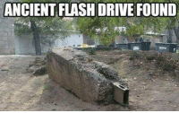 Driving, Memes, and Drive: ANCIENT FLASH DRIVE FOUND
