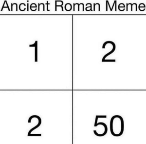 Fucking, Meme, and Tumblr: Ancient Roman Meme  1  2  2  50 such-justice-wow:  I will end your fucking bloodline