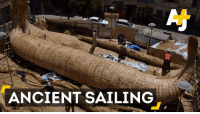 Memes, Lifetime, and Undertaker: ANCIENT SAILING 10,000 miles on a reed boat?  Aymara craftsmen from Bolivia are helping an explorer undertake the voyage of a lifetime.