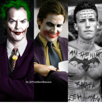 Which Batman is the best Joker?: and dad and that  tman  an  IG  @THEBAT BRAND  an  man  man  ma Which Batman is the best Joker?