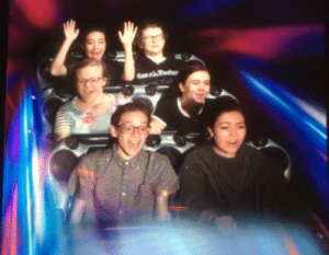 And heres our grand finale from space mountain: And heres our grand finale from space mountain