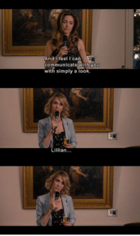 Memes, Bridesmaids, and 🤖: And I feel I can  communicate with you  with simply a look  Lillian Bridesmaids