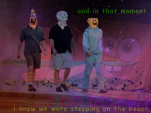 alyssaties:  celestiawept2:  jillbees:  what i did in graphic design class today is  oh my god I laughed way harder at this than i should have  my LUNGS : and in that momen  DO DO DO DO  i knew we were stepping on the beach alyssaties:  celestiawept2:  jillbees:  what i did in graphic design class today is  oh my god I laughed way harder at this than i should have  my LUNGS