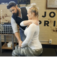 After years of pain after a car accident, a whole body chiropractic adjustment made her feel instantly better 🙌: and in the cau  and preventio  of disease.  UNILAD  J O  ma After years of pain after a car accident, a whole body chiropractic adjustment made her feel instantly better 🙌