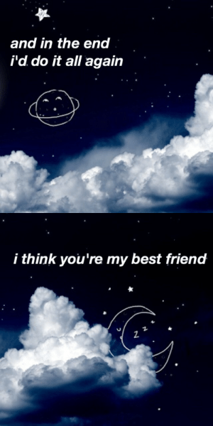 nuclearplantlife:the kids aren't alright // fall out boy: and in the end  i'd do it all again   i think you're my best friend  2 nuclearplantlife:the kids aren't alright // fall out boy
