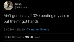And it's only round 2 (via /r/BlackPeopleTwitter): And it's only round 2 (via /r/BlackPeopleTwitter)