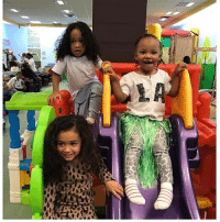 Memes, Omarion, and 🤖: And MVN BallerBabies - Royalty, Megaa and Marley Rae at A'mei's birthday party chrisbrown omarion apryljones evamarcille ballerbaby