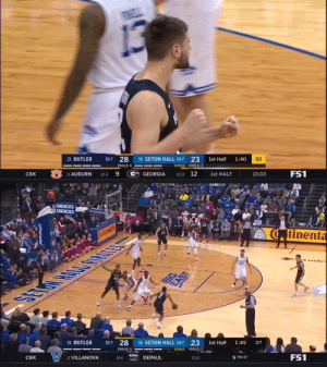 AND ONE @bryce_golden!  @ButlerMBB's big man sinks his FT and already has 12 on the evening 😎 https://t.co/tozhGllxLZ: AND ONE @bryce_golden!  @ButlerMBB's big man sinks his FT and already has 12 on the evening 😎 https://t.co/tozhGllxLZ