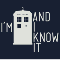 Boxing, Memes, and 🤖: AND  POLICE  BOX  I'M  KNOW