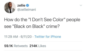 And skip right over white on white crime: And skip right over white on white crime