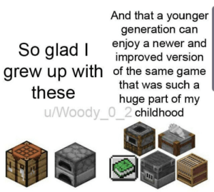 How this game has grown: And that a younger  generation can  enjoy a newer and  improved version  grew up with of the same game  that was such a  So glad I  these  huge part of my  /Woody_0_2 childhood How this game has grown