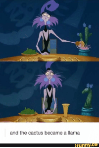 RT @DisneysSecrets: Emperor's New Groove; never noticed this before lol https://t.co/UL8vv37wtC: and the cactus became a llama  ifunny.ce RT @DisneysSecrets: Emperor's New Groove; never noticed this before lol https://t.co/UL8vv37wtC