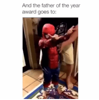 Funny, This, and Father: And the father of the year  award goes to: This me 😂💯