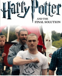 Can't wait for the new Harry Potter book: AND THE  FINAL SOLUTION Can't wait for the new Harry Potter book