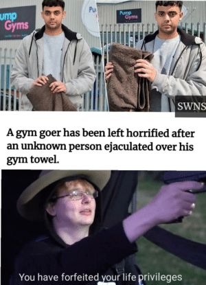 And the gym is called pump gym: And the gym is called pump gym
