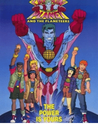 Memes, Captain Planet, and Happy: AND THE PLANET EERS  THE  POWER Follow @1990s.daily - Happy earthday ! Who remember Captain Planet 🔥 1990s 1990sdaily 90sbaby 90skid - regrann