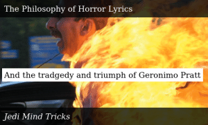 Jedi Mind Tricks Legacy Of Blood The Philosophy Of Horror