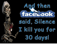 Memes, Silence, and 🤖: And then  TaceYDO  said, Silence  I kill you for  30 days!  T.G.L. ~Terry~