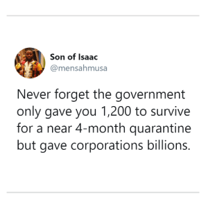 And they won't tell you what companies they gave money to: And they won't tell you what companies they gave money to