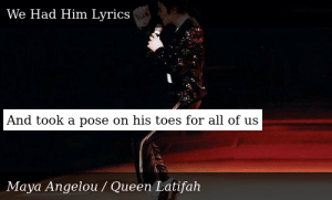 SIZZLE: And took a pose on his toes for all of us