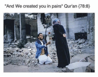 "Memes, Pandora, and 🤖: ""And We created you in pairs"" Qur'an 78:8) I REALLY LOVE THIS STORY, SUCH A GREAT LESSON. My husband doesn't have a lot, neither of us do. We scrape and scrape to pay bills and put food in our bellies, but after almost 2 years of dating we decided that we couldn't wait anymore, so we didn't. I wasn't even thinking about rings, I just wanted to marry my best friend, but he wouldn't have it. He scraped up just enough money to buy me two matching rings from Pandora. Sterling silver and CZ to be exact. That's what sits on my ring finger, and I am so in love with them. . - While we were purchasing my rings however, another lady that was working there came over to help the lady selling them to us. She said, ""Y'all can you believe that some men get these as engagement rings? How pathetic."" When she said that I watched my now husband's face fall. He already felt like a failure, asking me again and again ""Are you sure you'll be happy with these? Are you sure this is okay?"" He was so upset at the idea of not making me happy enough and of me not wanting to marry him because my rings didn't cost enough money or weren't flashy enough. . - I said, ""It isn't the ring that matters, it is the love that goes into buying one that is."" We bought the rings and left. Y'all I would have gotten married to this man if it had been a 25¢ gum ball machine ring. When did our nation fall so far to think the only way a man can truly love a woman is if he buys her $3,000+ jewelry and makes a public decree of his affection with said flashy ring? Sure they are nice, sure the sentiment is wonderful and I'm not trying to cut down any of your experiences, but when did it come to all that? Why do material possessions equate love?? . - My husband was so afraid of me not wanting him because he couldn't afford a piece of jewelry. He was afraid that the love I have for him would pale because he couldn't afford the wedding set I wanted. The world has made it this way and it is so sad. But here I am though, Court-House married, $130 ring set, the love of my life by my side and happier than I could ever imagine."" ▃▃▃▃▃▃▃▃▃▃▃▃▃▃▃▃▃▃ @abed.alii 📝"