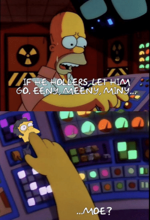 And who saved the Springfield Nuclear Power Plant? Oh let's just say Moe.: And who saved the Springfield Nuclear Power Plant? Oh let's just say Moe.