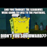 AND YOUTHOUGHTTHE SEAHAWKS  WEREGOING TO LOSE TOTHE PANTHERS  DIDNTNOUSOUIDWARDPp  imgfip com gohawks
