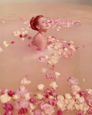 andantegrazioso:   Justine Silver, Milk of roses | Photo by Henry Talbot, 1960  : andantegrazioso:   Justine Silver, Milk of roses | Photo by Henry Talbot, 1960