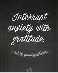 Interrupt anxiety with gratitude. positiveenergyplus: andiely with Interrupt anxiety with gratitude. positiveenergyplus