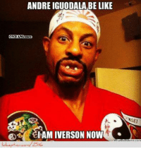 Nba, Gone, and Iam: ANDRE IGUODALA BE LIKE  WONBAMemesn  IAM IVERSON NOW  NSEI Andre Iguodala Gone Crazy!