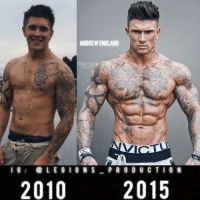 "Clothes, England, and Facebook: ANDREW ENGLAND  TIBO NOR  PHOTOGRAP  I G  a L E G I O N S  P R O D U C T I O N  2010  2015 🔥😳CRAZY TRANSFORMATION! Founder 👉: @king_khieu. From 2010 to 2015. Thoughts? 🤔Opinions? What do you guys think? COMMENT BELOW! Athlete: @andrewengland88. Photography 📸: @tibonorman. TAG SOMEONE who needs to lift! _________________ Looking for new gym clothes? Use our 10% discount code: LEGIONS10🔑for Ape Athletics (@apeathletics) 🦍 fitness apparel! The link is in our 👆 bio! _________________ Check out our principal account: @fitness_legions for the best fitness and nutrition information! Like✅ us on Facebook👉: ""Legions Production"" for a chance at having a shoutout. @legions_production🏆🏆🏆. . . . . . . . run running runner athlete athletes athletic sport sports calves quadzilla striations quads quad quadriceps hamstrings glutes backworkout back backday chest chestday chestworkout traps delts shoulder shoulders pecs shreds shred shredz"