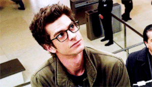 Andrew Garfield Spiderman Glasses Gif Adorkable Handsomeness Gif Meme On Me Me