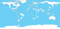 Blessed, Tumblr, and Access: andrewjacksonscenichikes: pax-britannica:  mapsontheweb:  The World with landlocked regions removed.  good post  You can only reblog this blessed post if you have access to the sea.