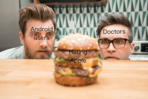 Android, Apple, and Dank: Android  ARKDoctors  users  Hating  Apple Fresh hot n ready by CaptainCupkakez MORE MEMES