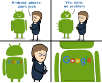 "Android, Facebook, and Omg: Android, please,  don't look  Yes, sure,  no problem  Facebook.com/einsteinsmama <p><a href=""https://omg-images.tumblr.com/post/167839451597/ocugly-truth-about-android"" class=""tumblr_blog"">omg-images</a>:</p>  <blockquote><p>[OC]Ugly truth about Android</p></blockquote>"