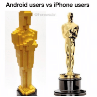 Android users vs iPhone users  @thenewsclan Let the battle begin. thenewsclan tagafriend oscars oscars2016 droid iphone