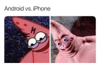 Android, Iphone, and Lol: Android VS. IPhone lol