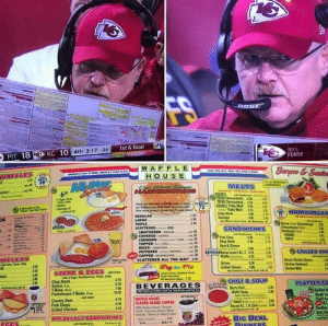Andy Reid in the zone right now... https://t.co/oUMPOkdYbh: Andy Reid in the zone right now... https://t.co/oUMPOkdYbh