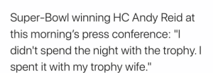 Andy Reid winning more than just a Super Bowl: Andy Reid winning more than just a Super Bowl