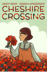 """Hey! Some of you may have already seen me share this project over on Twitter, but the past few months I have been working on illustrating a graphic novel written by Andy Weir called """"Cheshire Crossing."""" It's currently being released on Tapastic and right now it's meant for mobile viewing, so check out the first few episodes on your phone here: https://tapas.io/episode/694251  Colors were done by the fantastic Alison George! You can check out her work here: http://www.alison-george.com: ANDY WEIR SARAH ANDERSEN  CHESHIRE  CROSSING Hey! Some of you may have already seen me share this project over on Twitter, but the past few months I have been working on illustrating a graphic novel written by Andy Weir called """"Cheshire Crossing."""" It's currently being released on Tapastic and right now it's meant for mobile viewing, so check out the first few episodes on your phone here: https://tapas.io/episode/694251  Colors were done by the fantastic Alison George! You can check out her work here: http://www.alison-george.com"""