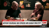 """Ready for London? """"We showed up just as the Brexit vote happened ... it was like a collective nervous breakdown"""" #PartsUnknown tonight 9pm ET/PT: anemia.  with a  mino,king of  actually  the horumon meats!  of the  horumon!  Low in  fato  S  CNN's """"PARTS UNKNOWN""""  ANTHONY BOURDAIN: NEW EPISODE AIRS SUNDAY 9PM ET/PT CNN  6:53 PM PT  AC360° Ready for London? """"We showed up just as the Brexit vote happened ... it was like a collective nervous breakdown"""" #PartsUnknown tonight 9pm ET/PT"""