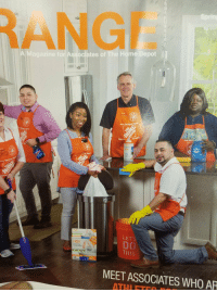 You cant hide from me Harambee.: ANGE  A Magazine for Associates of The Home Depot  Art The Home  The  ore  More s  DAWN  ome Dept  LETS  10)  THIS  Drawsting  Kitchen bags  MEET ASSOCIATES WHO AR  ATHIETr You cant hide from me Harambee.