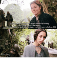 《Catelyn had come to love her husband with all her heart but she had never found it in her love to jon》 Pic; game of thrones|season 3 episode 2 Caption : catelyn stark's thoughts|a song of ice and fire: Anghelived and i couldnt keep my promise and everything  that's happened since then all this  horror that's come to my family its all because i couldn't love a motherless child 《Catelyn had come to love her husband with all her heart but she had never found it in her love to jon》 Pic; game of thrones|season 3 episode 2 Caption : catelyn stark's thoughts|a song of ice and fire