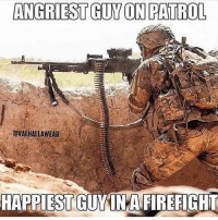 Let the rage free 💥🇺🇸: ANGRIEST GUY ON PATROL  OVAEHALLAWEAR  HAPPIEST  GUMINAFIREFIGHI Let the rage free 💥🇺🇸