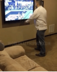 Memes, Worldstar, and Worldstarhiphop: Angry Alabama Fan Punches His TV & Breaks It After Clemson Wins National Championship! 👀 Watch Now On WorldStarHipHop.com & The WorldStar App! (Posted by @AbdulWorldstar) WSHH